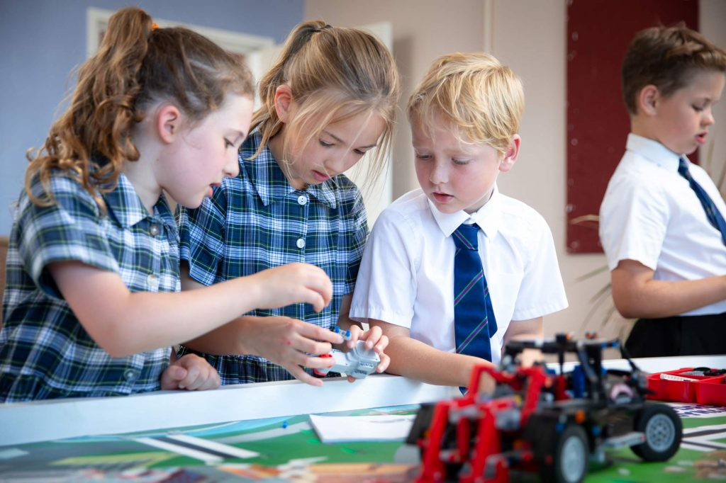 Cricklade Manor Prep Lego robotics